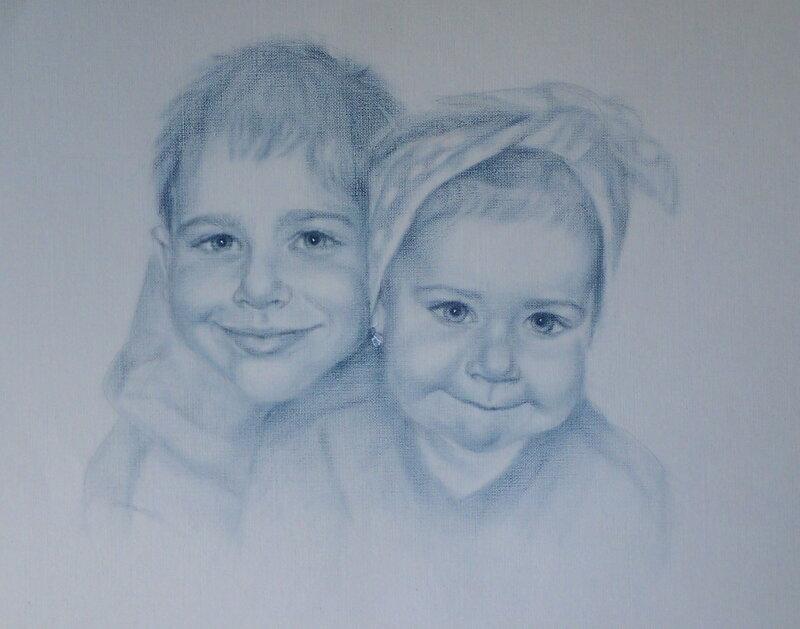 Брат с сестрой. Чудесные портреты художницы luboff00