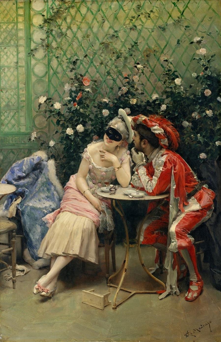 2_1875-1878_Маскарад (Masqueraders)_101.6 x 64.8_х.,м._Нью-Йорк, музей Метрополитен.jpg