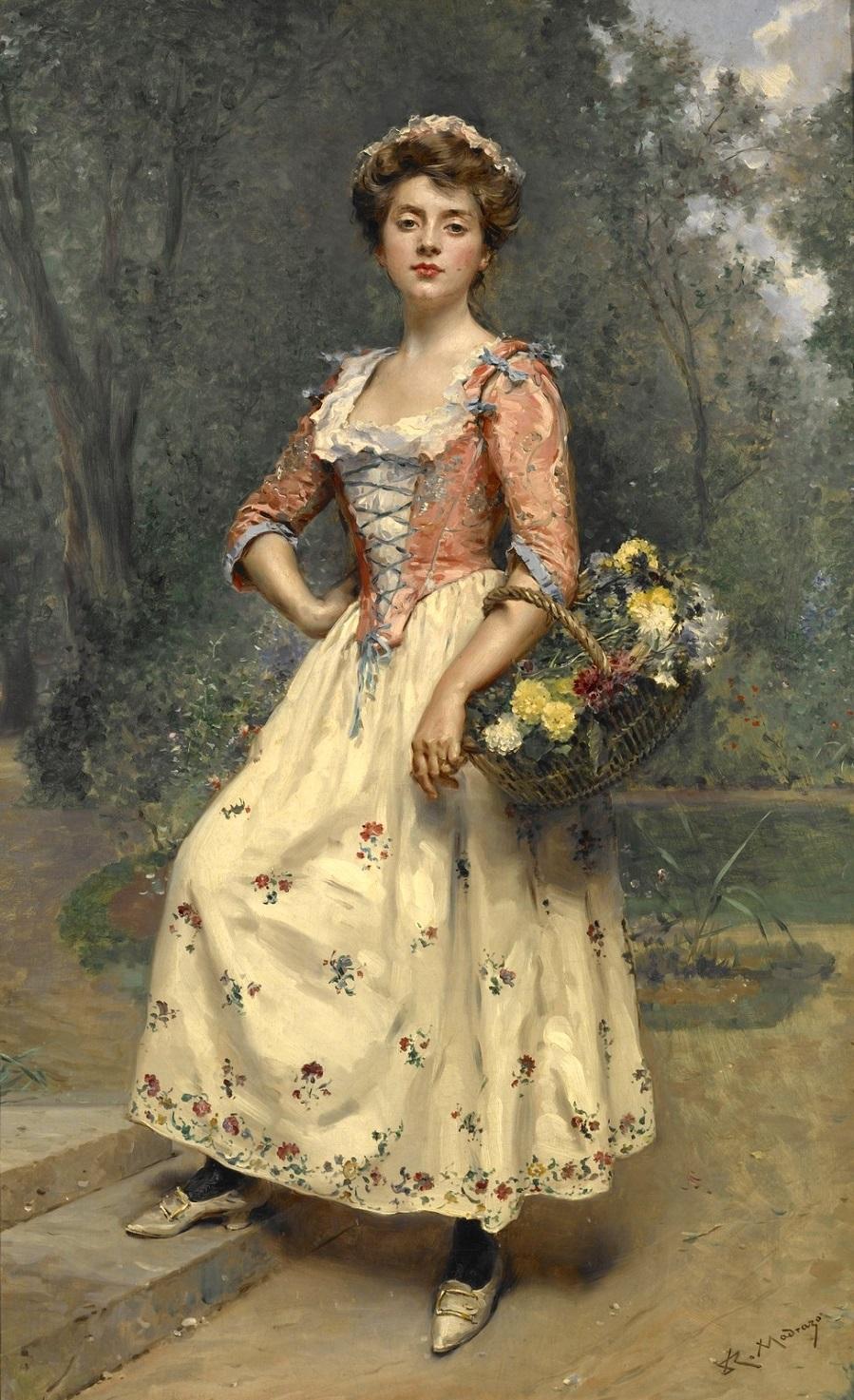 Весенняя красавица (Spring beauty)_97 х 58.2_х.,м._Индианополис, Музей искусства.jpg