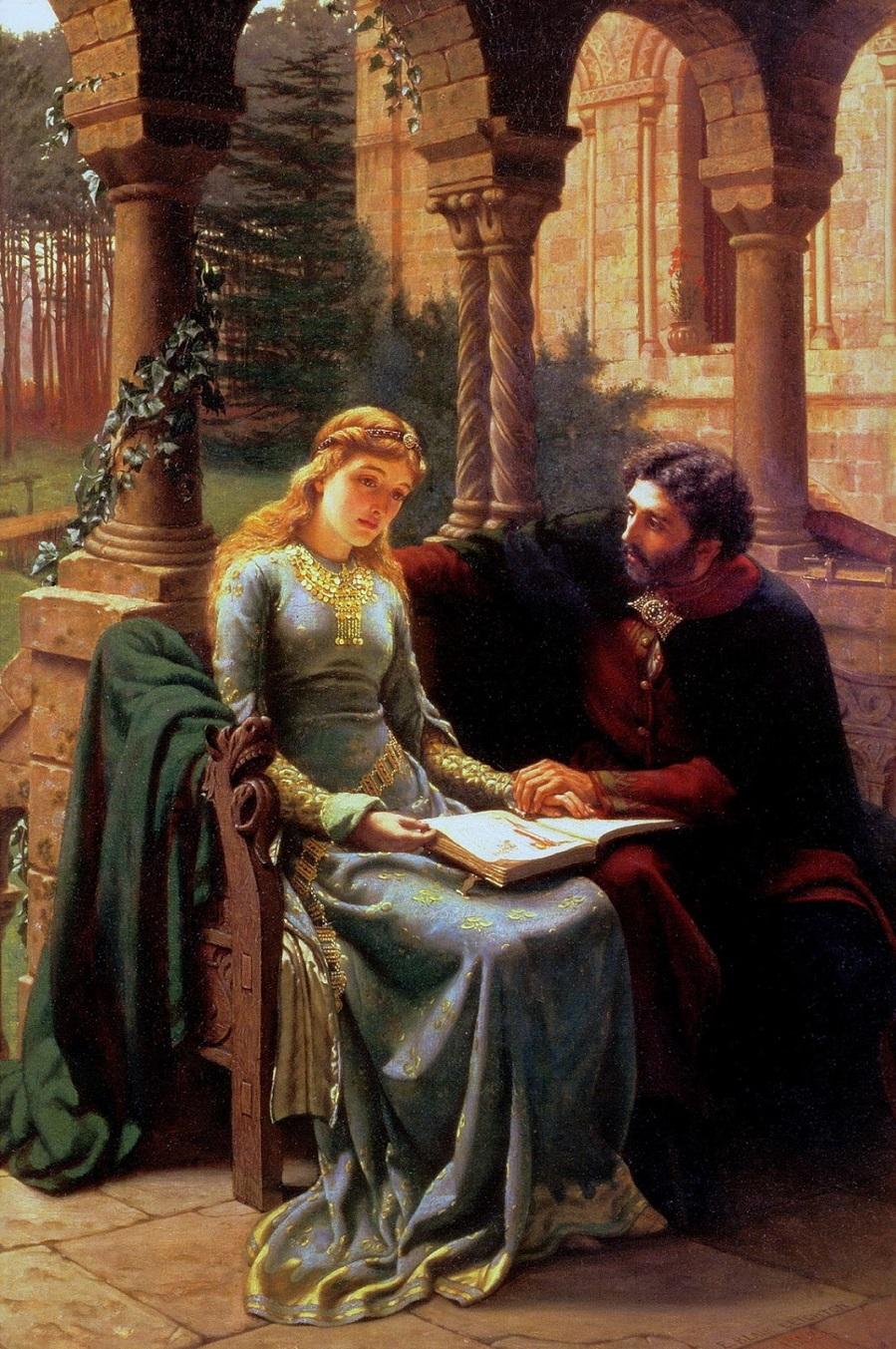 1882 Абеляр и его ученица Элоиза (Abelard and his Pupil Helois)