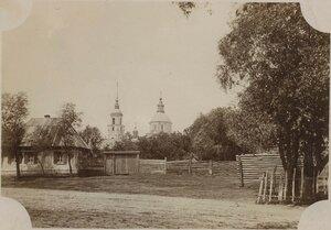 Вид на Казанскую церковь
