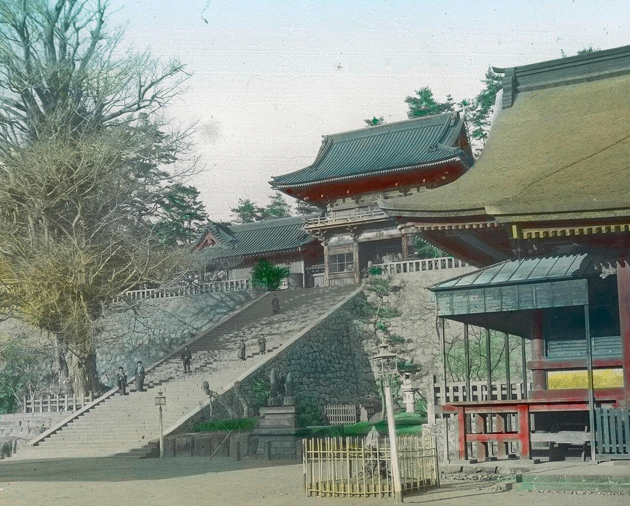 Камакура. Подъем к храму Цуругаока Хатимангу