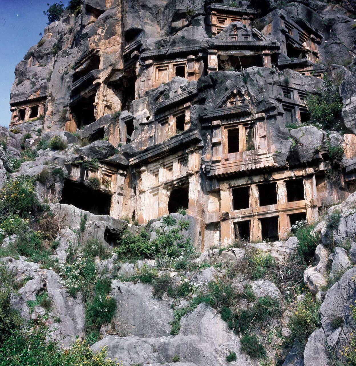 Мира. Ликийские гробницы