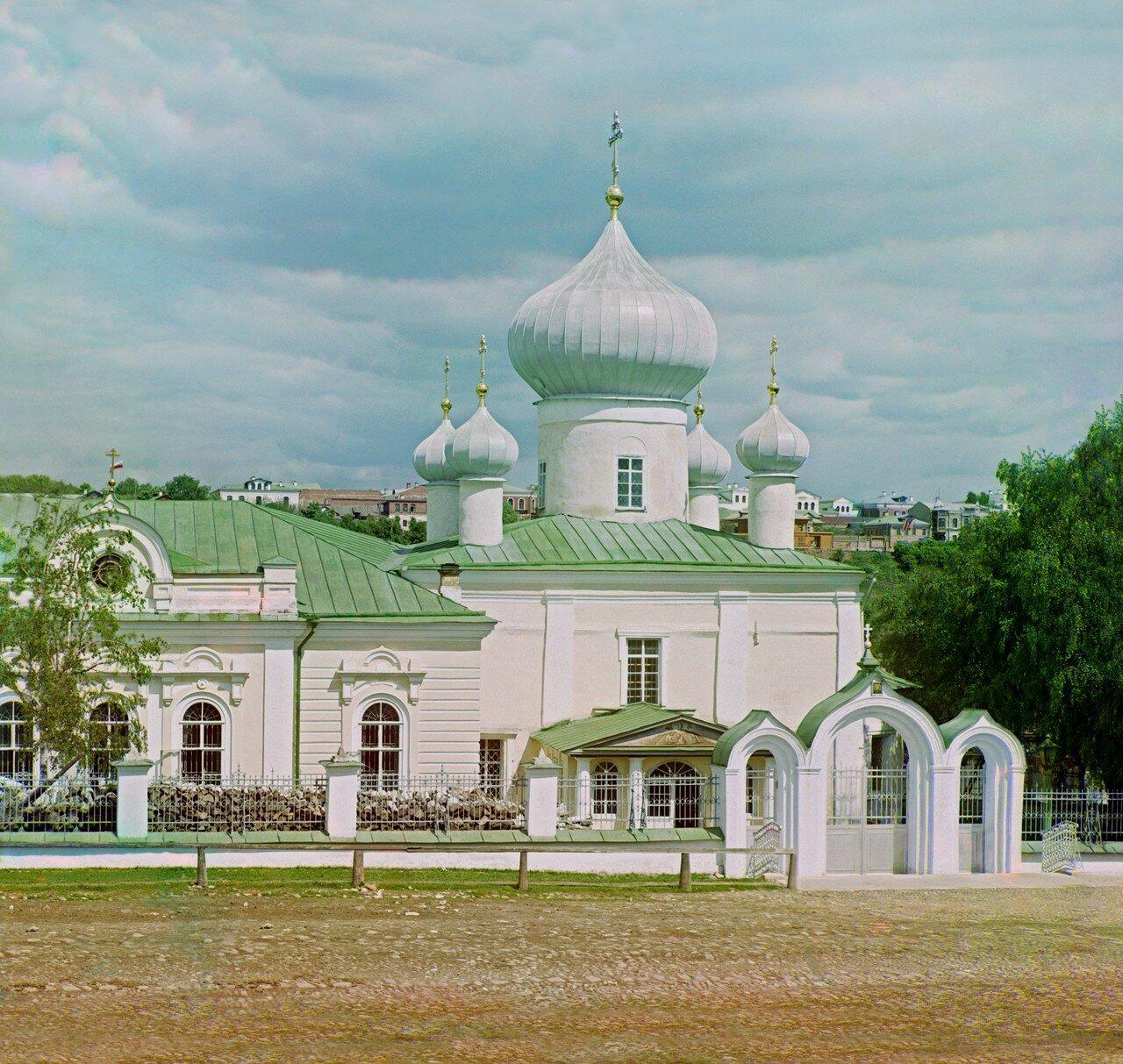 Князь-Дмитриевская сторона. Церковь Спаса Преображения