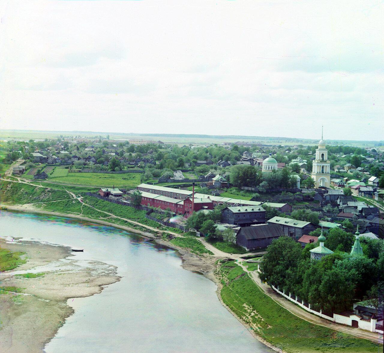 Князь-Дмитриевская сторона с Оковецкой церковью