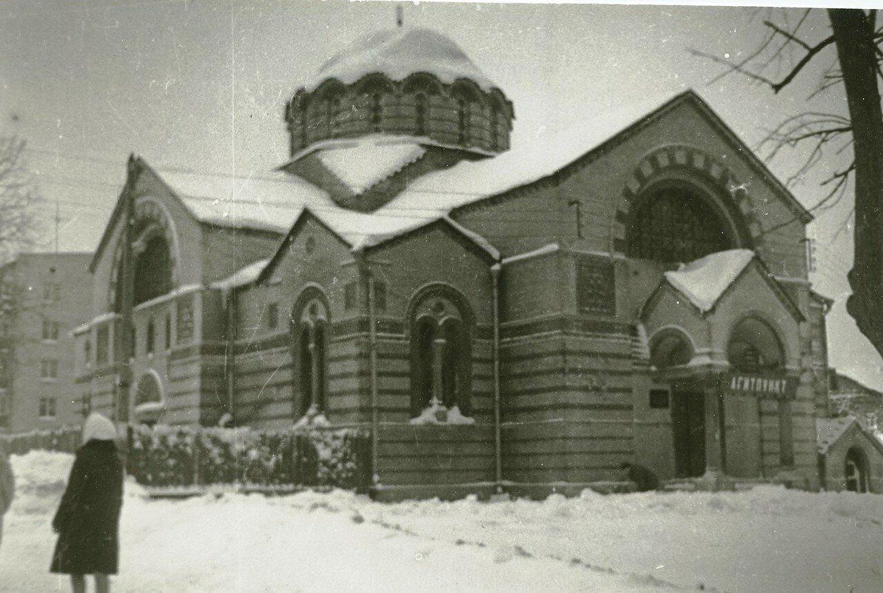 1970-е. Храм иконы Знамение в Кунцеве