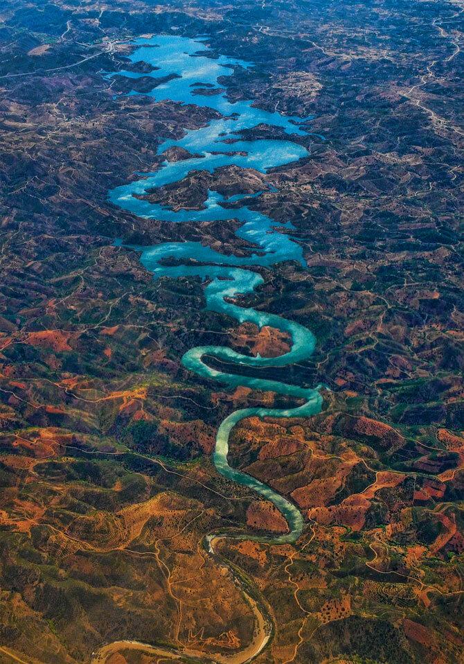 Река Оделейте, Португалия