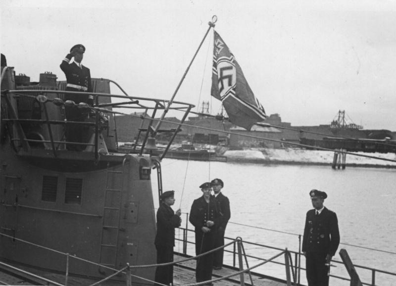 знак командира подводной лодки рейха