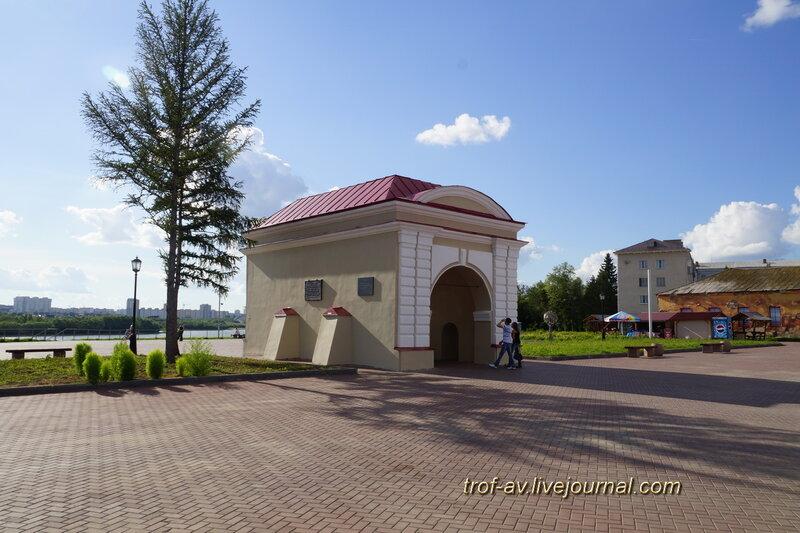 Тобольские ворота Омской крепости, историко-культурный комплекс Старая крепость, Омск