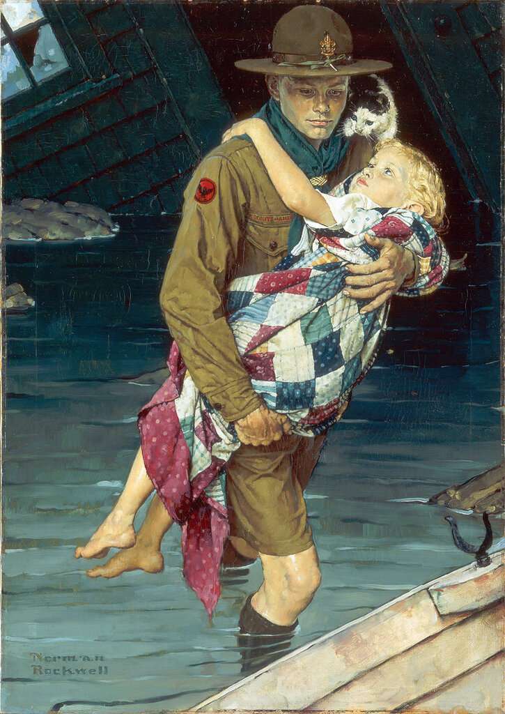Волшебные-картины-Норман-Роквелл-Norman-Rockwell