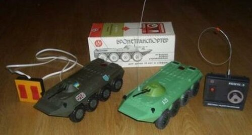Игрушки из 80-х и 90-х годов