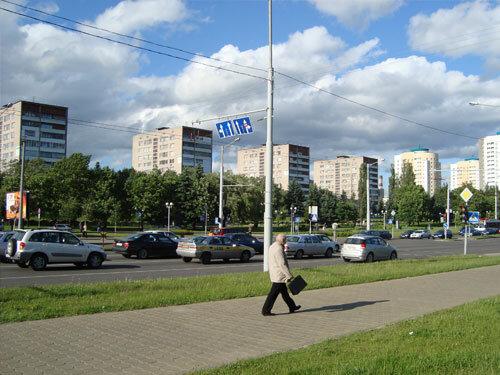 Отдых в Беларуссии: Минск, улицы города