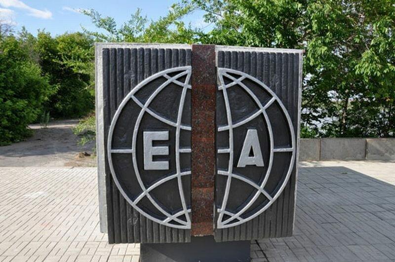 Памятник границе Европы и Азии (24.07.2013)