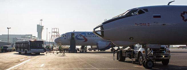 Авиакомпании. Фото: А.Геншер