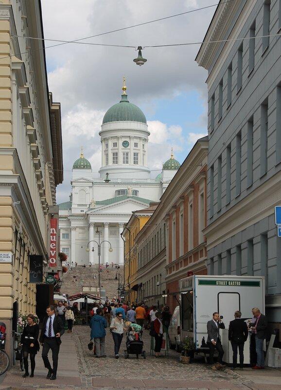 Хельсинки, Рыночная площадь (Kauppatori, Salutorget)