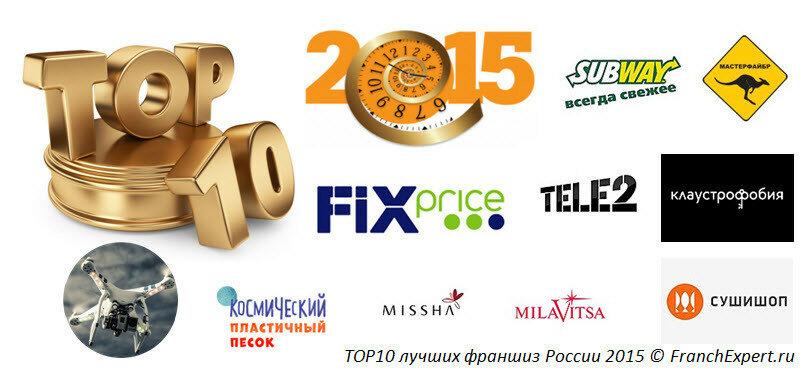Лучшие франшизы России