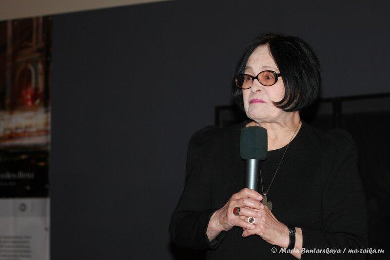 Кира Муратова, Саратов, кинотеатр 'Пионер', 16 сентября 2013 года