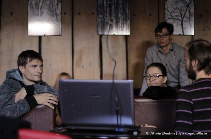 Воркшоп от Артёма Коренюка, Саратов, кофейня, 'Кофе и шоколад', 21 сентября 2013 года