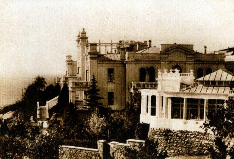 Пансион Александрова-Дольника.Восточный фасад