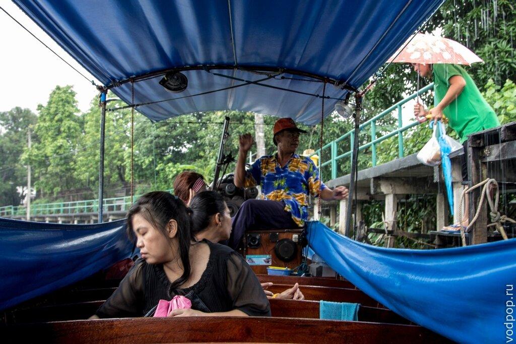 Прогулка по клонгам, Бангкок