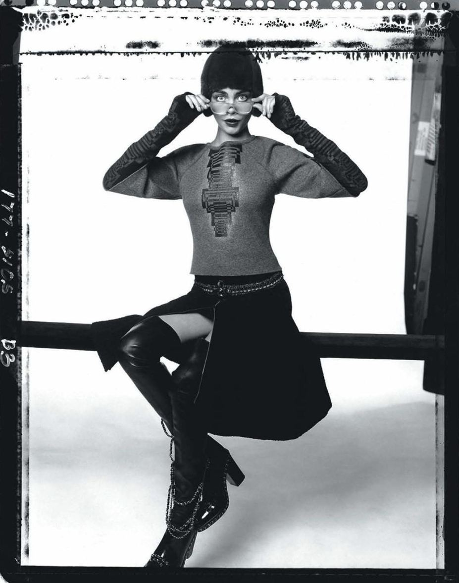Кара Делевинь / Cara Delevingne by David Bailey in Vogue Australia october 2013