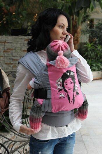 эргономичный рюкзак гуслёнок