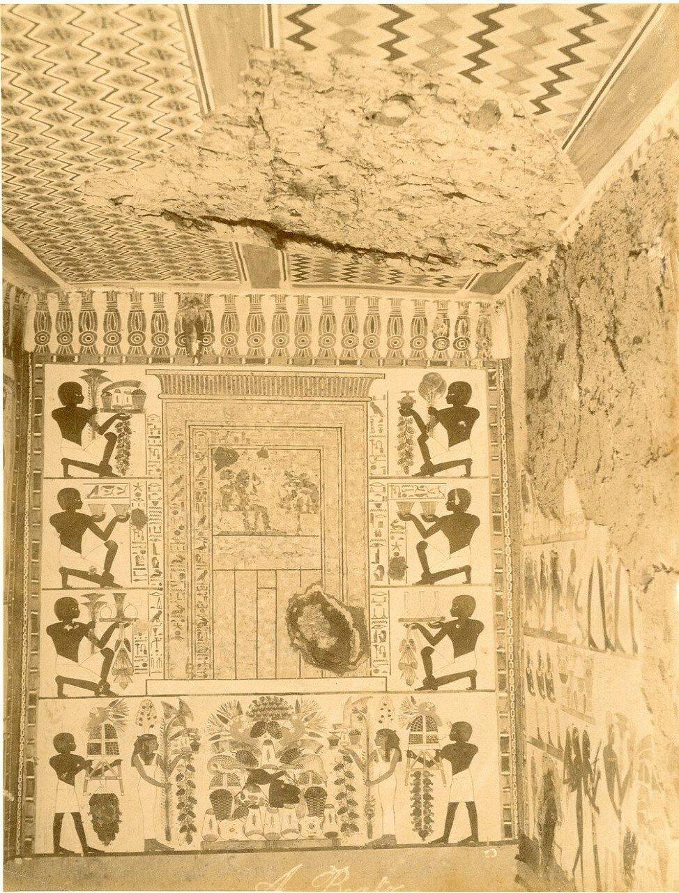 Фивы. Роспись гробницы Нахта