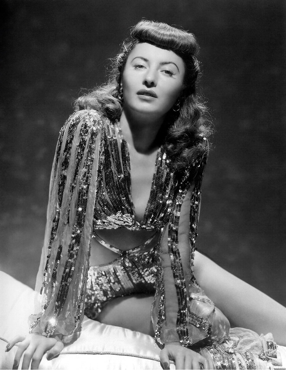 Barbara Stanwyck - by George Hurrell c1941 - Ball Of Fire