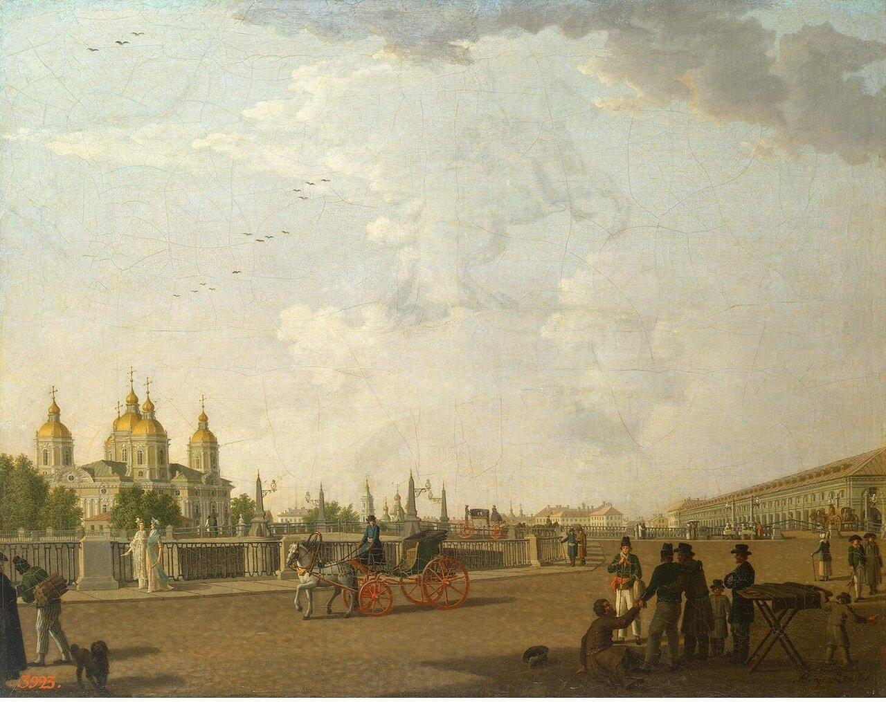 Вид на Свято-Николаевский собор