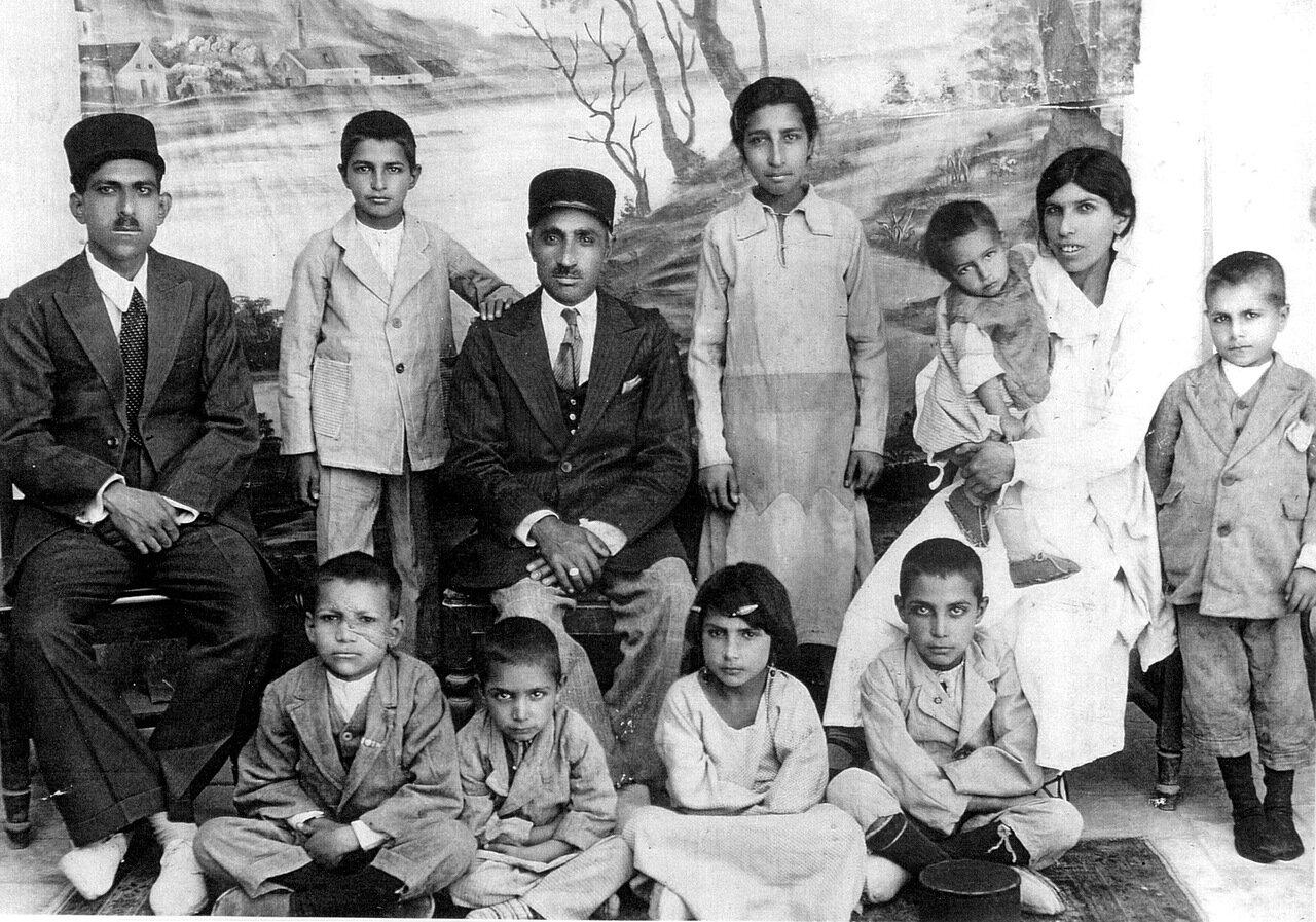 Семья Меира Махбира, Исфахан, ок. 1932