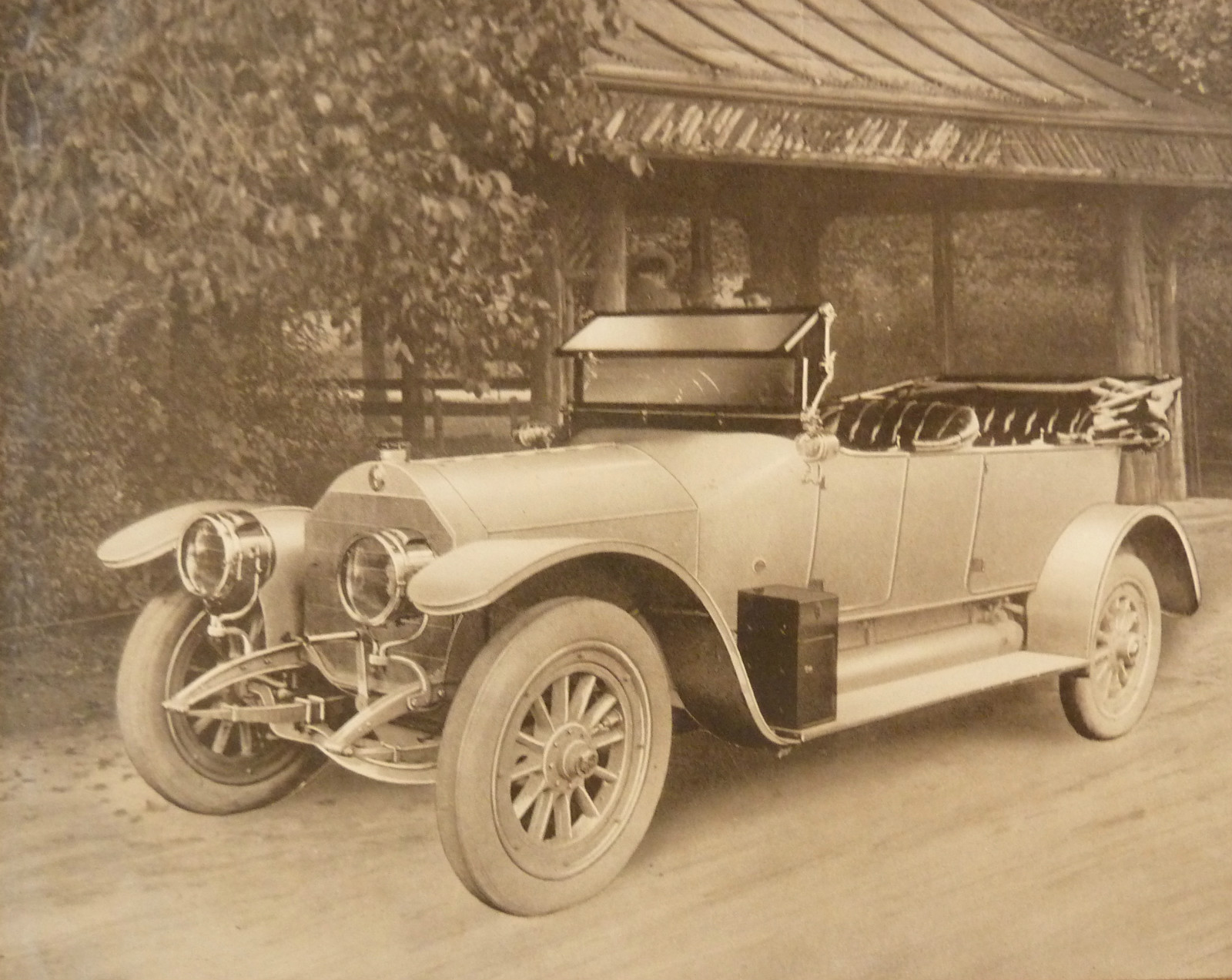 Автомобиль немецкой компании Benz & Cie Карла Бенца