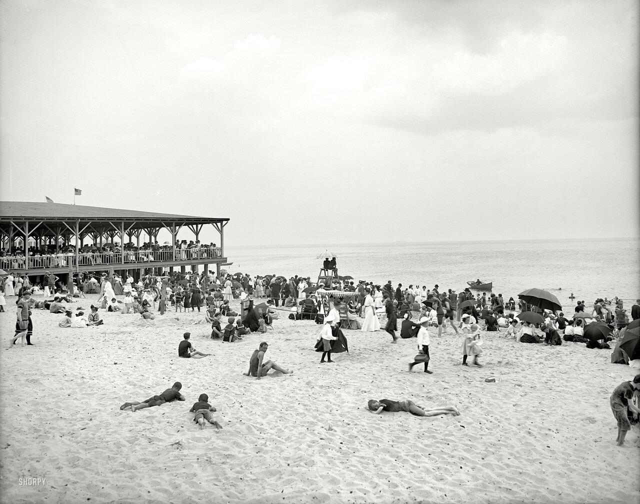 1905. На берегу моря