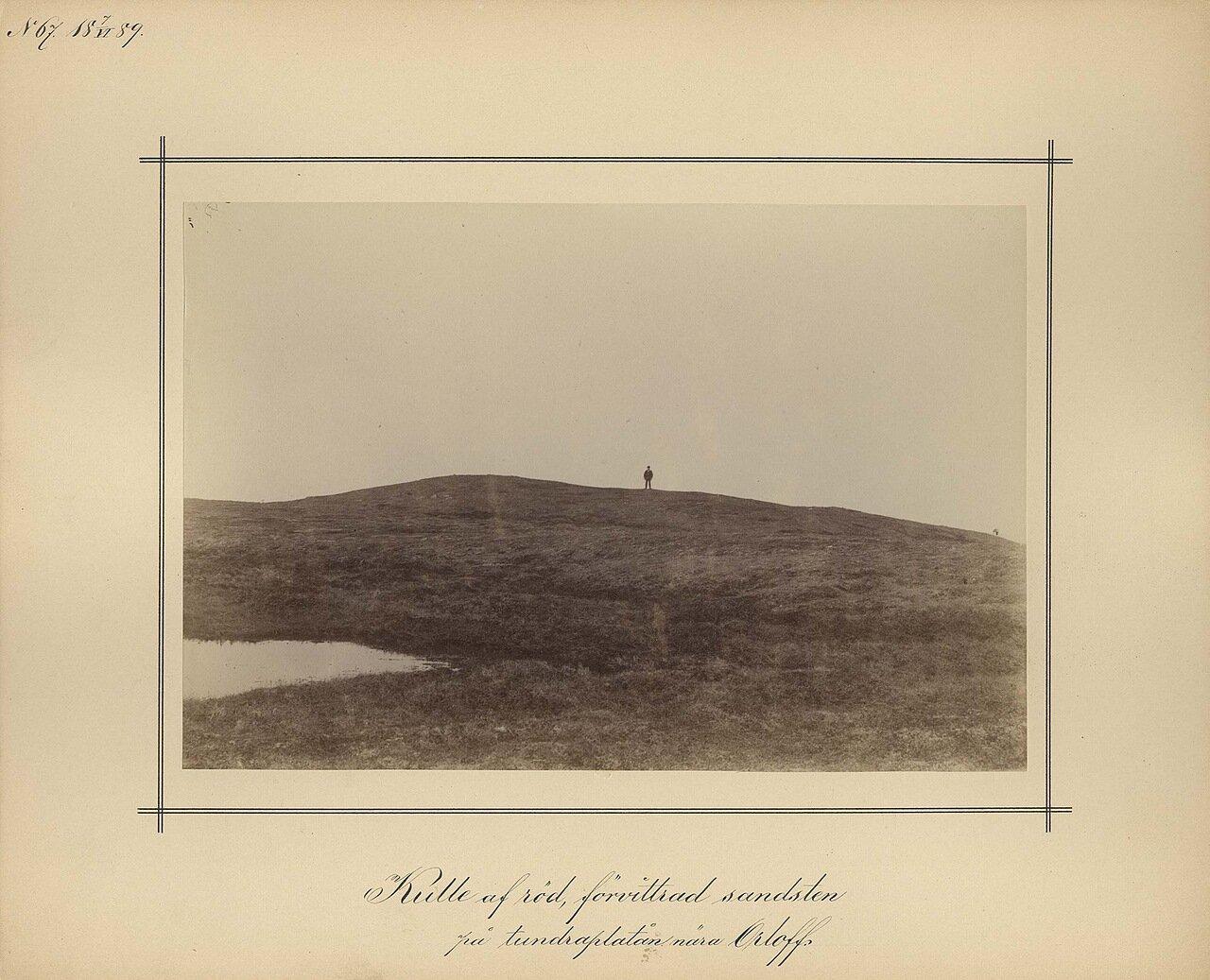 7.6.1889. Красный песчаник вблизи Орлова