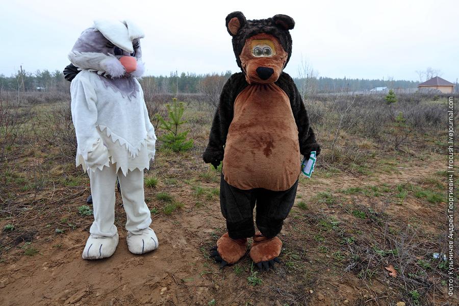 встреча речных туристов в поселке Медведок