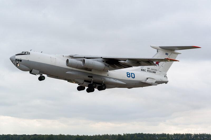 Ильюшин Ил-78М (RF-94283 / 80 синий) ВВС России D802532