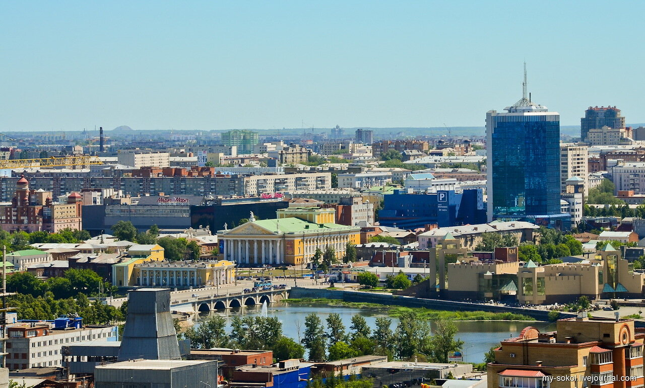 Челябинск с высоты и ЧТЗ: chelchel_ru — LiveJournal