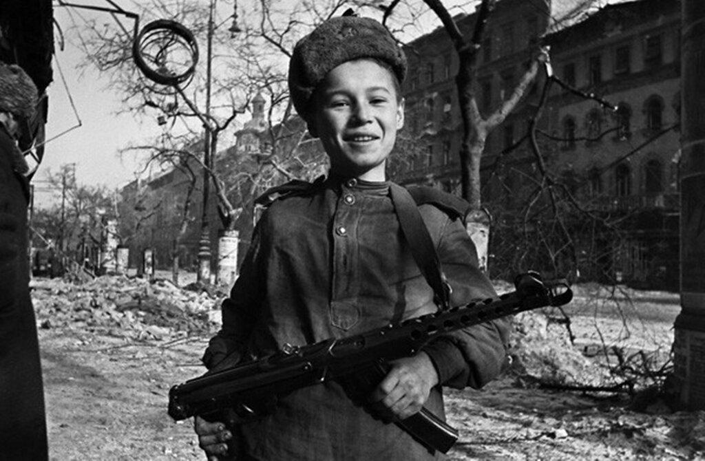 Освобождение Австрии. Апрель 1945 г.