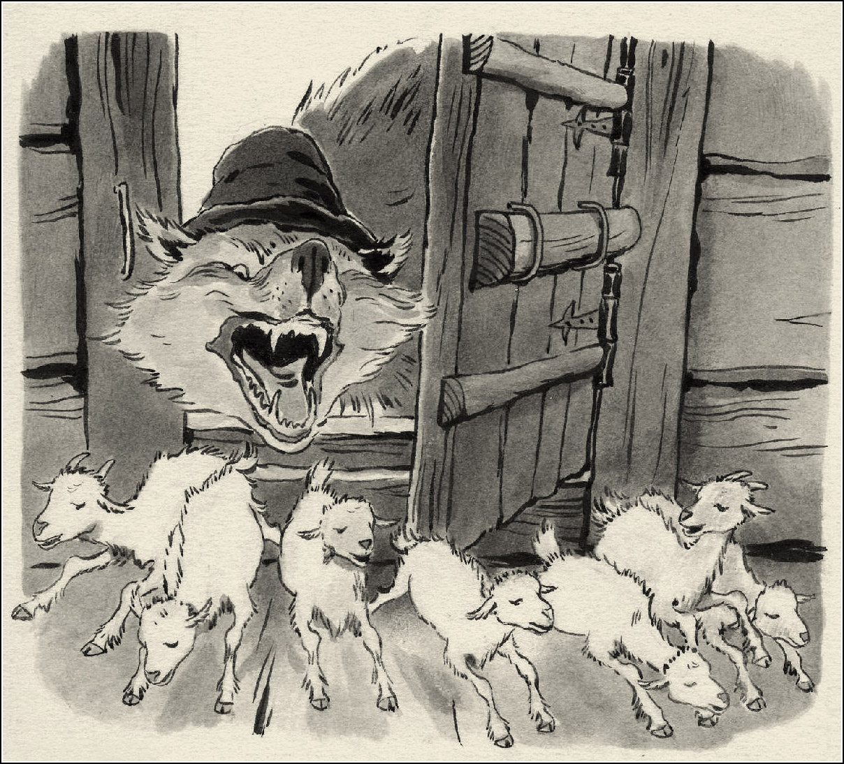 Марина Успенская, Волк и семеро Козлят