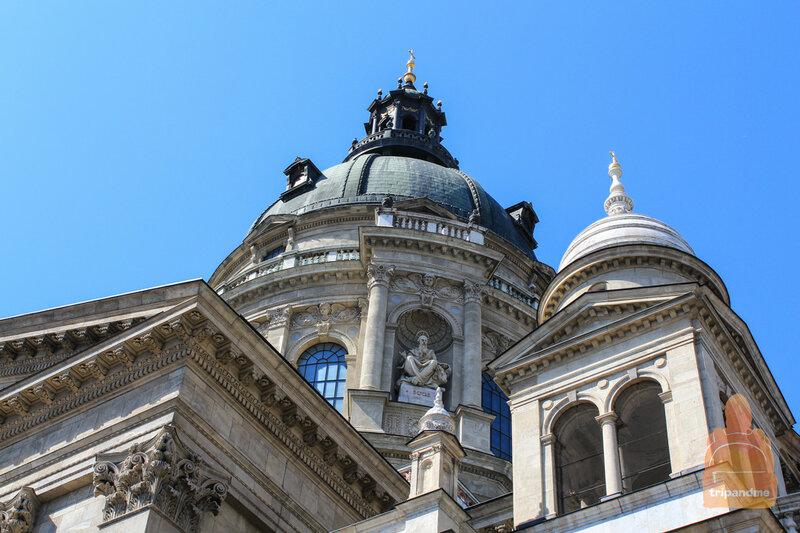Высота базилики святого Иштвана составляет 96 метров