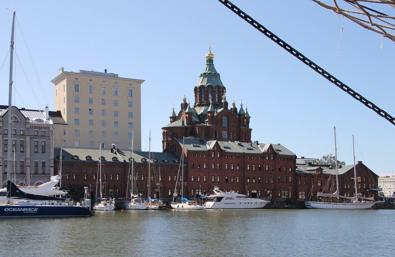 Helsinki. Katajanokka island