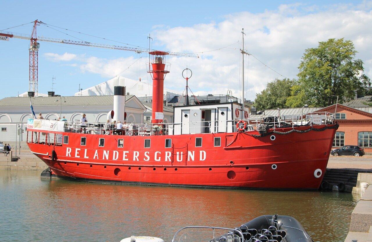 Helsinki. Lightship Relandersgrund