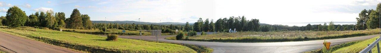 Западная Швеция. Western Sweden, panorama