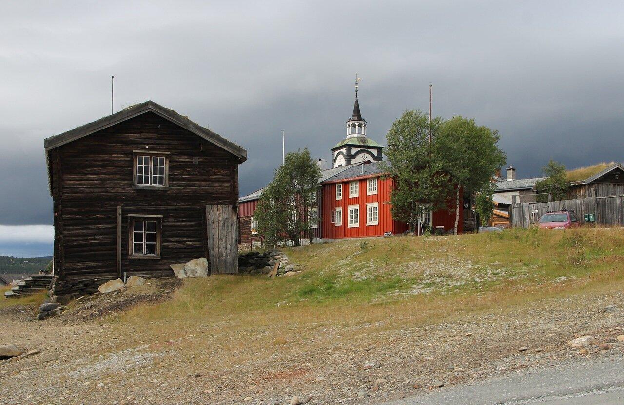 Røros. Old house
