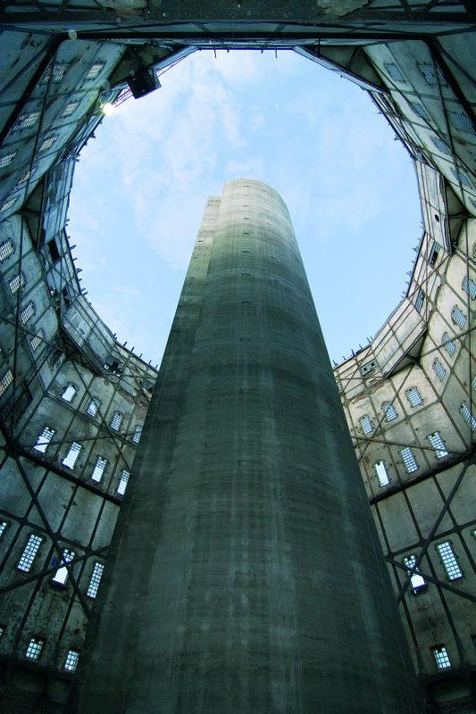 Реконструкция старинной водонапорной башни. Mövenpick Hotel. Гамбург