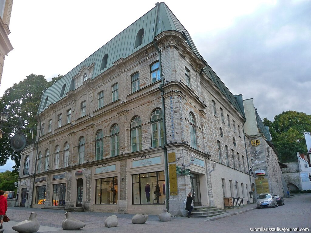 "Здесь раньше было кафе ""Таллин""."