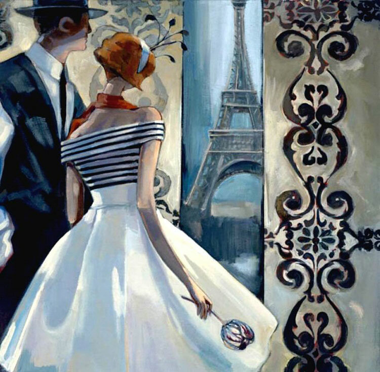 Танго Парижа, рай стал поближе! Триш Биддл. Trish Biddle
