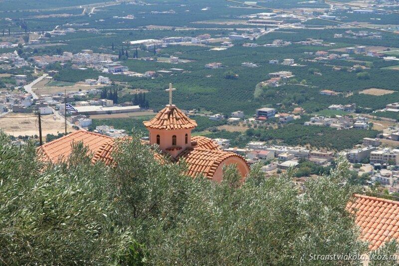 Пелопоннес, Крепость Лариса или Аргосская крепость