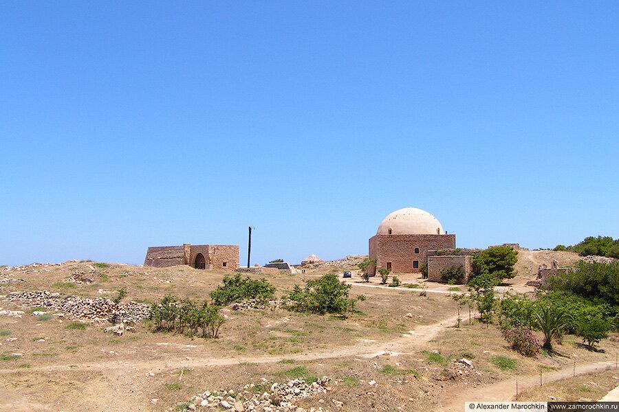 В крепости Фортецца, Ретимно, Крит