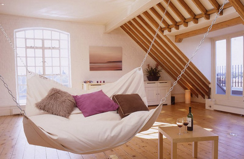Image result for bedroom ideas slanted ceiling