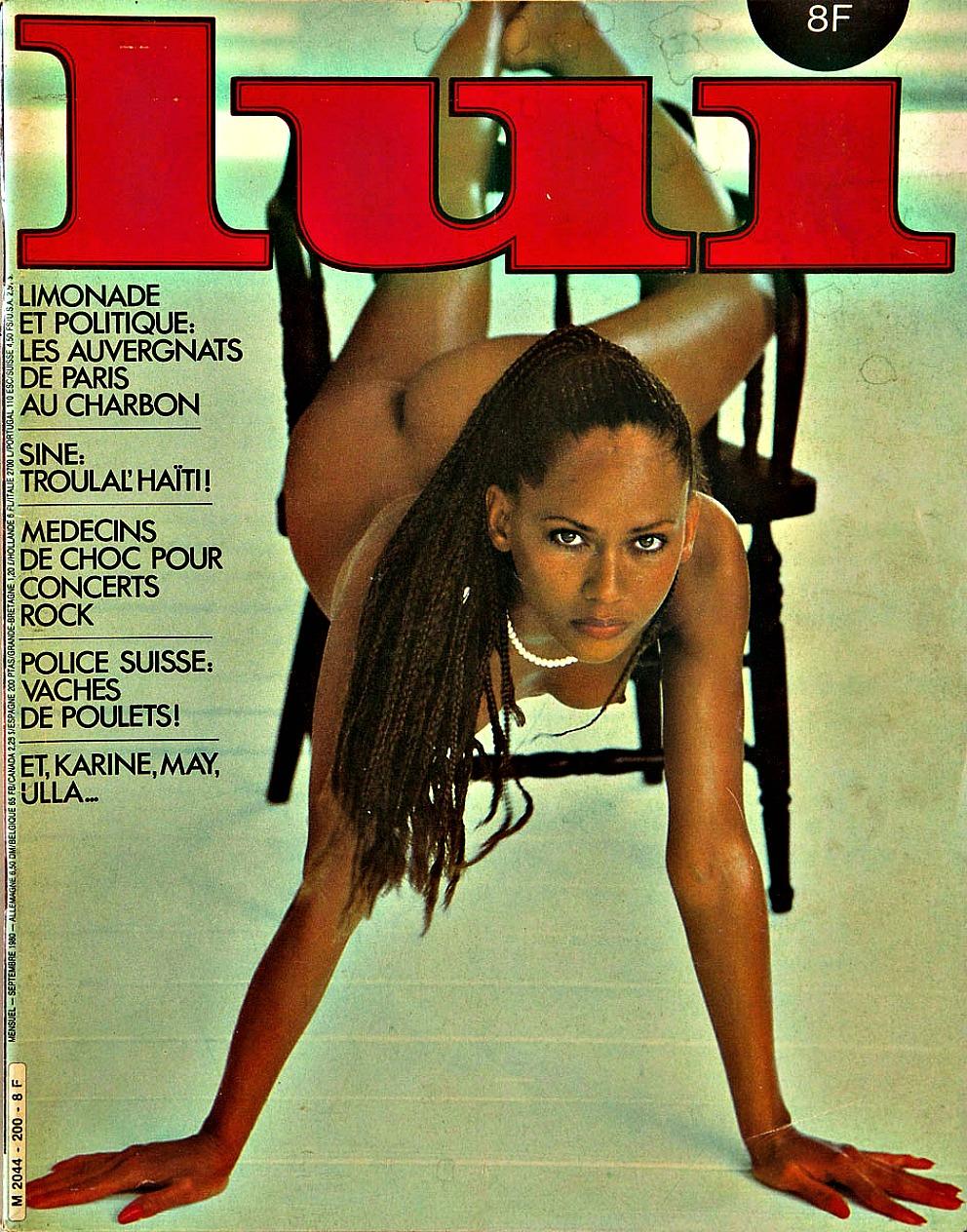 Французский журнал для мужчин Lui 1980 года
